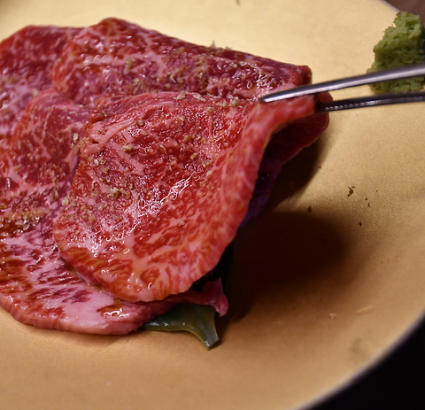 【粋】10種の個室焼肉コース料理【イノウエのこだわりの旨い肉を集結したオススメ】2名樣から