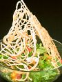 料理メニュー写真人気!バリそばサラダ