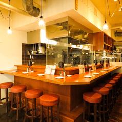 大人気のカウンターは目の前で調理の臨場感を味わえる特等席!12席ございます◎急な飲み会や終電間際のちょっとした飲み会に◎