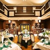 〈ゲストハウスウィンザー内エリザベスホール〉最大34名様まで。カジュアルな宴会に◎