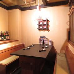 広々としたテーブル席でご宴会!会社宴会や合コンなど、様々なシーンでご利用いただけます。