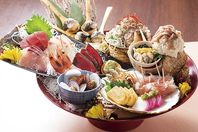一丁自慢の新鮮な刺身海鮮をご堪能くださいませ!