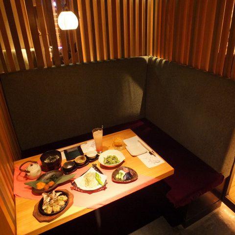 画像 : 【保存版】初デートで使える、L字シートのお店!「新宿 ...