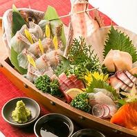 直送の鮮魚を今宵は贅沢にご堪能・・・♪