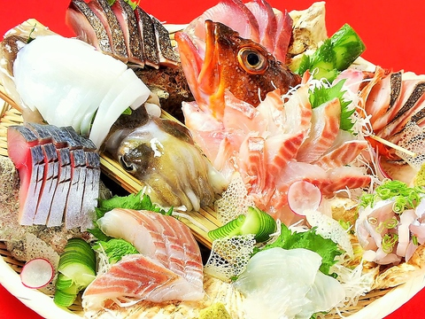 魚が食べたーいそんな時に 九州・天然・旬にこだわったラインナップ 刺身ならココだ