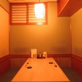 会食やプライベートなお時間を過ごしたい方におすすめの半個室です。