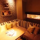 個室は全7室!ゆったりソファー席※個室利用時は別途、個室料一人500円頂戴いたします