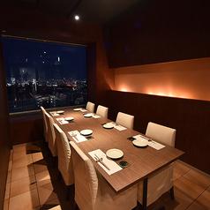 夜景テーブル個室★