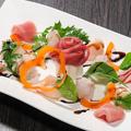 料理メニュー写真海鮮カルパッチョ