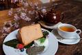 料理メニュー写真【2018年 春のおすすめ】桜のシフォンケーキ