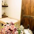 アズーロのトイレにはおむつ交換台が完備されています。赤ちゃんと一緒でママも安心できます。