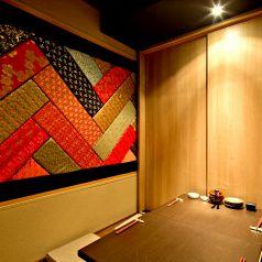 純和風の堀ごたつ個室