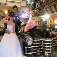 結婚披露PARTYや2次会など年間60件以上の貸切実績多数!