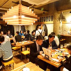 天ぷらスタンド KITSUNE 女子大小路店の雰囲気1