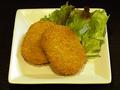 料理メニュー写真鶏ミンチコロッケ