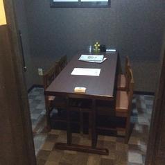 一室限定の完全個室。予約時にお申し付け下さいませ。
