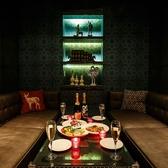 6名様までOKのカラオケ付き個室。コンパ・女子会での利用に人気です。