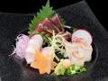 料理メニュー写真本日のお刺身3種盛り合わせ