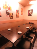 テーブル席をつなげれば宴会席としてご利用可能!会社宴会・懇親会などの普段使いから、忘年会・歓送迎会などの季節ごとの宴会にもおすすめ!