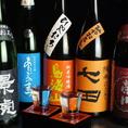 焼酎・日本酒・地酒取り揃えております♪随時20~25種ほどをご用意!