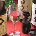 選び抜いた地酒、焼酎、梅酒等の50種以上の上質、美酒が飲み放題。