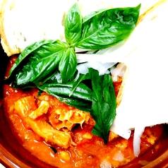 料理メニュー写真トリッパと白インゲン豆のトマト煮込み