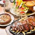 フレンチで修行を積んだシェフが作るカジュアルなお料理は、どれもシンプルだけど手が込んでいます。がっつり肉料理を堪能したいときには「VINSENT満喫コース4500円!」牛ハラミ1ポンドステーキをメインにしたコースがこちらです♪ワインにぴったりな美味しい肉料理を多数ご用意してます。会社宴会や飲み会にご利用下さい