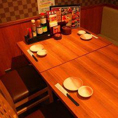 テーブル席有り!4・6・8名様ご利用可