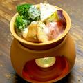 料理メニュー写真温野菜のカマンベールフォンデュ
