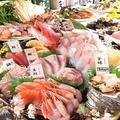 料理メニュー写真日替わり鮮魚刺し 小980円(税抜) / 大1980円(税抜)