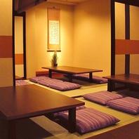 壁・扉あり!完全個室は5部屋ございます