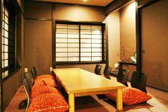 大部屋のお座敷。8~10名様で個室としてご利用いただけます。