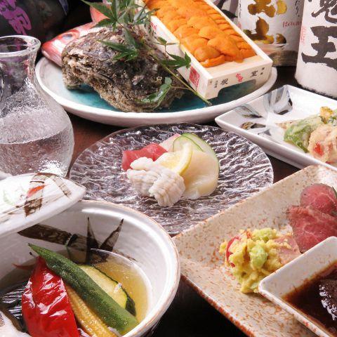 【お肉orお魚のメインが選べる!満足コース!】全9品120分[飲放]付5000円(税込)