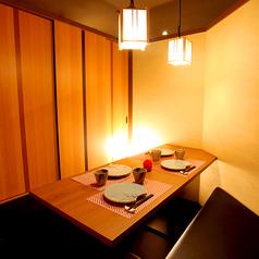 ≪人気≫2~6名様の少人数貸切個室!設備や照明にこだわり、お客様に心から落ち着きあるきれいな空間で大切な方とのお食事をご堪能下さい・・・。