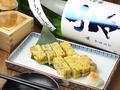 料理メニュー写真【秋田八森焼】しょっつる出汁玉子焼