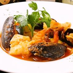 料理メニュー写真お魚一匹のアクアパッツァ