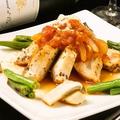 料理メニュー写真チキンソテー(トマトソース)&季節の野菜添え