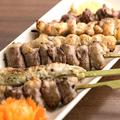 料理メニュー写真ふっくら宮崎県産の焼鳥は必食!! 盛り合わせ5本