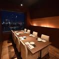 【個室完備】2~最大40名様まで♪◆個室 宴会×夜景 牛たん 閣牛 新宿店◆
