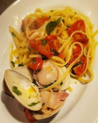 シンプルなイタリアン。地元の食材を多く取り入れた料理が豊富。