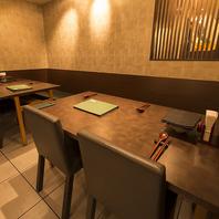 テーブル個室は2~最大20名様収容可能です!