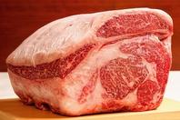 上質な牛肉もご用意してます