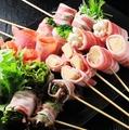 料理メニュー写真エノキの豚肉巻き(2本)/しょうがの豚肉巻き(2本)/シャキシャキレタスの豚肉巻き(2本)