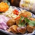 料理メニュー写真チェンマイソーセージのグリル(サイ・ウア)