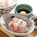 料理メニュー写真【鯛めし】日向めし