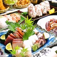 新鮮な魚介類を毎朝市場から仕入れています。