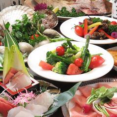 美食のWONDER LAND 一鮮のコース写真