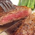 料理メニュー写真国産厳選牛のサーロインステーキ