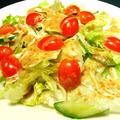 料理メニュー写真胡麻サラダ