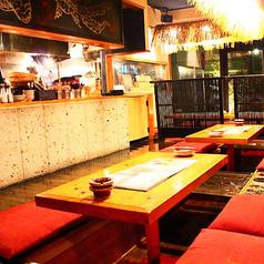 堀り炬燵テーブル席